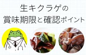 生キクラゲの賞味期限と確認ポイント