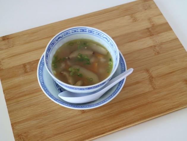 【レシピ】干し椎茸の中華スープ