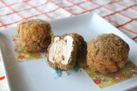 【レシピ】海老と椎茸のコロッケ