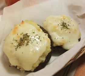 【レシピ】しいたけのじゃがチーズ焼き