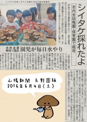 山陽新聞(2016年6月4日)
